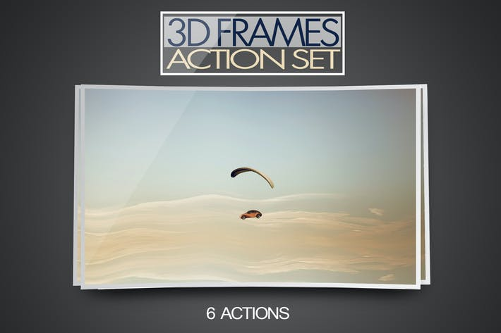 Cover Image For 3D Frame Action Set