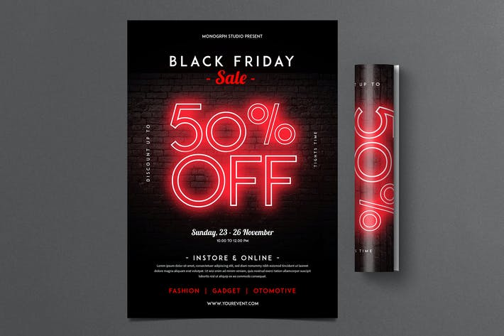 Thumbnail for Black Friday FLyer