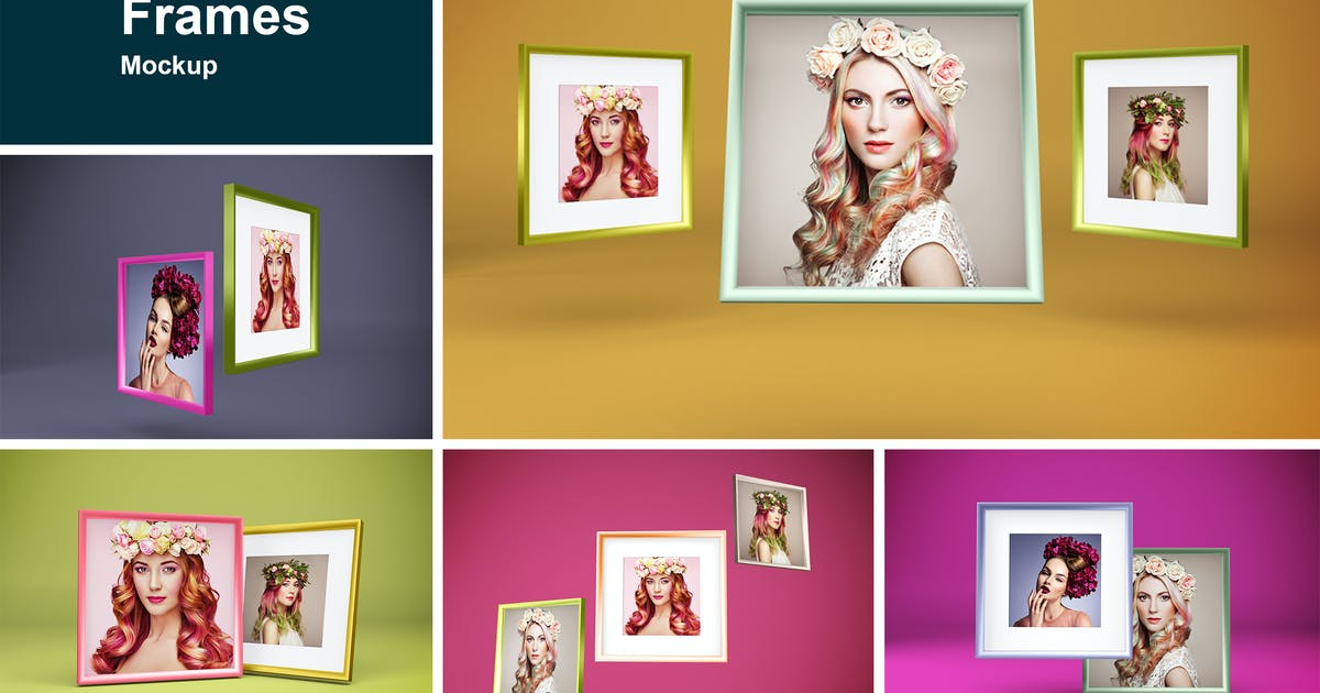 Download Square Frame by QalebStudio