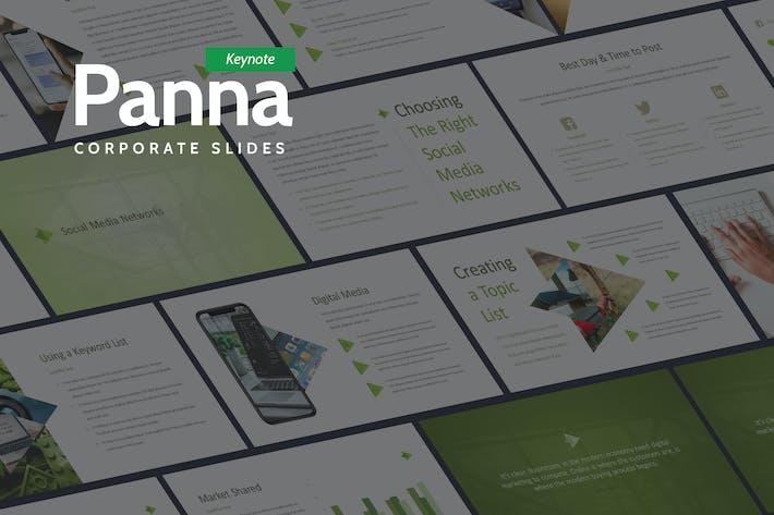 Thumbnail for Panna - Fresh and Simple Keynote
