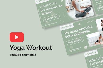 Yoga Workout - Youtube Thumbnail
