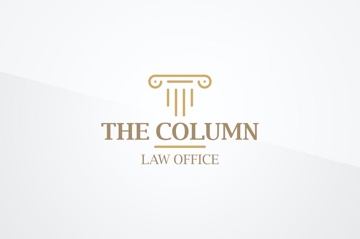 Thumbnail for Column Logo Template
