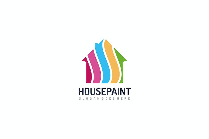 Thumbnail for Colorful House Logo