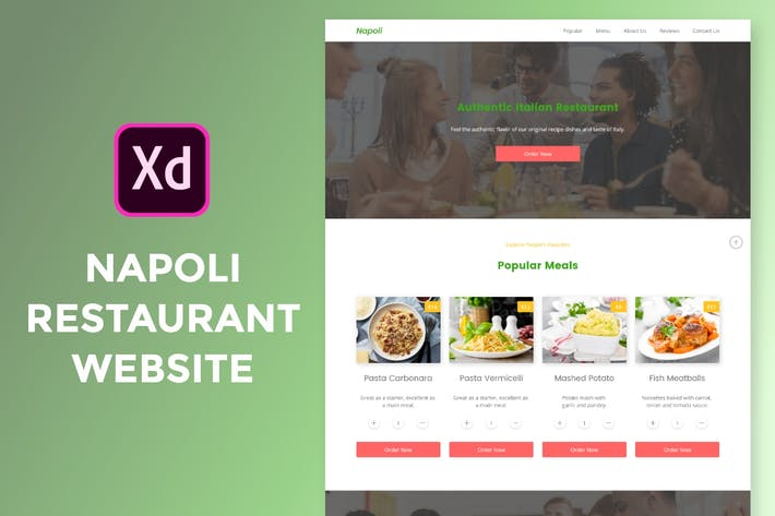 Thumbnail for Napoli Restaurant Website
