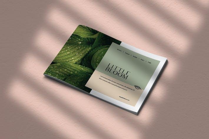 Thumbnail for Little Bloom - Brochure Landscape Template