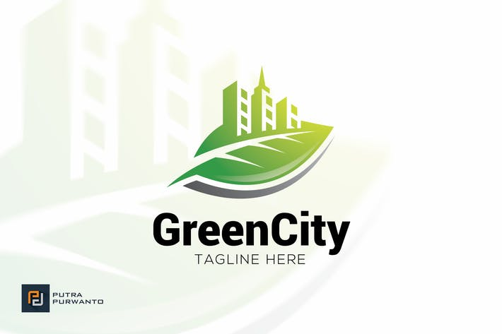 Thumbnail for Green City - Logo Template