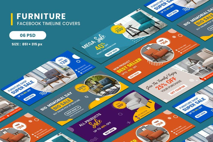 Thumbnail for Furniture Facebook Timeline Covers
