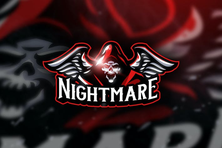 Thumbnail for Nightmare -  Mascot & Esport Logo