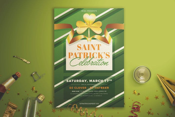 Thumbnail for St Patrick's Celebration Flyer