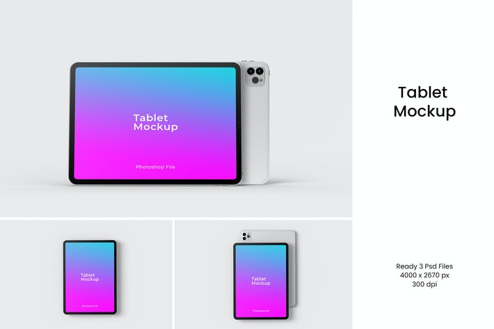 Thumbnail for Tablet Mockup V.2