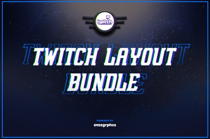 Thumbnail for Twitch Layout Bundle