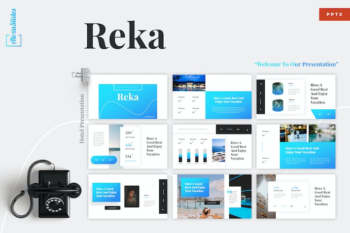 Thumbnail for Reka - Hotel Powerpoint Template