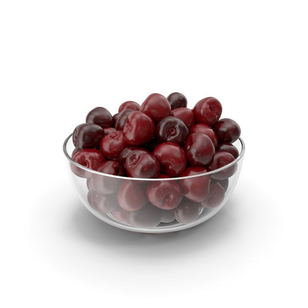 Thumbnail for Cherries in a Glass Plate