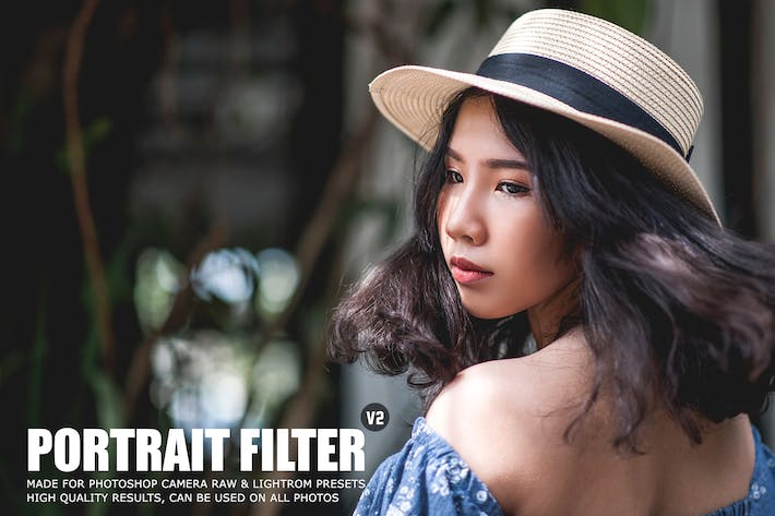 Cover Image For Pro Portrait Lightroom Presets Ver. 2
