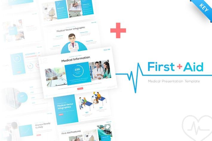 First Aid Medical Keynote Presentation Template