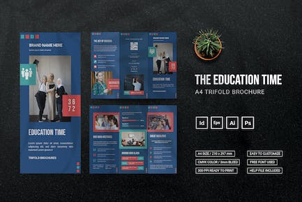 Education Time - Trifold Brochure