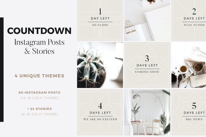 Thumbnail for Countdown Instagram Posts + Stories