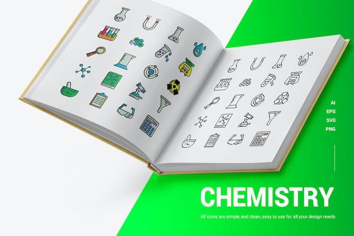 Chemie - Icons