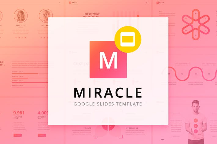 Thumbnail for Miracle Modern Google Slides Template