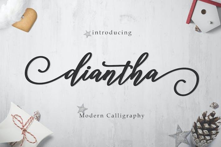 Thumbnail for Diantha Script