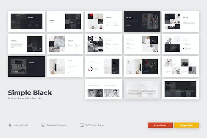Thumbnail for SIMPLE BLACK PRESENTATION.