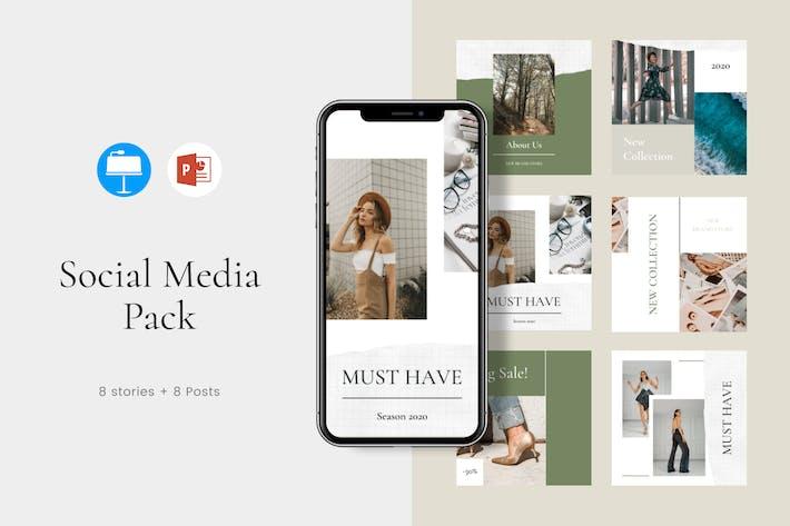 Thumbnail for Instagram Presentation Media Kit