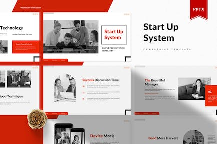 Start Up System   Powerpoint Template