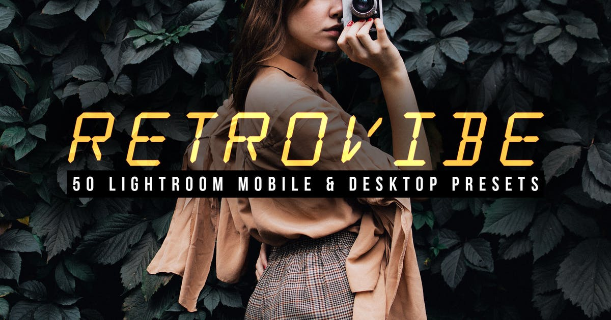 Download 50 Retrovibe Lightroom Presets and LUTs by sparklestock