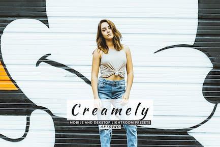 Creamely Lightroom Presets Dekstop and Mobile
