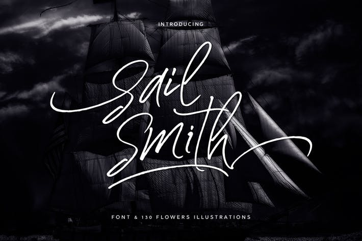 Thumbnail for Sail Smith + Webfonts