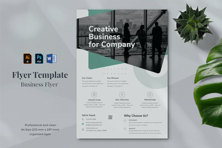 Thumbnail for Business Flyer Template 27
