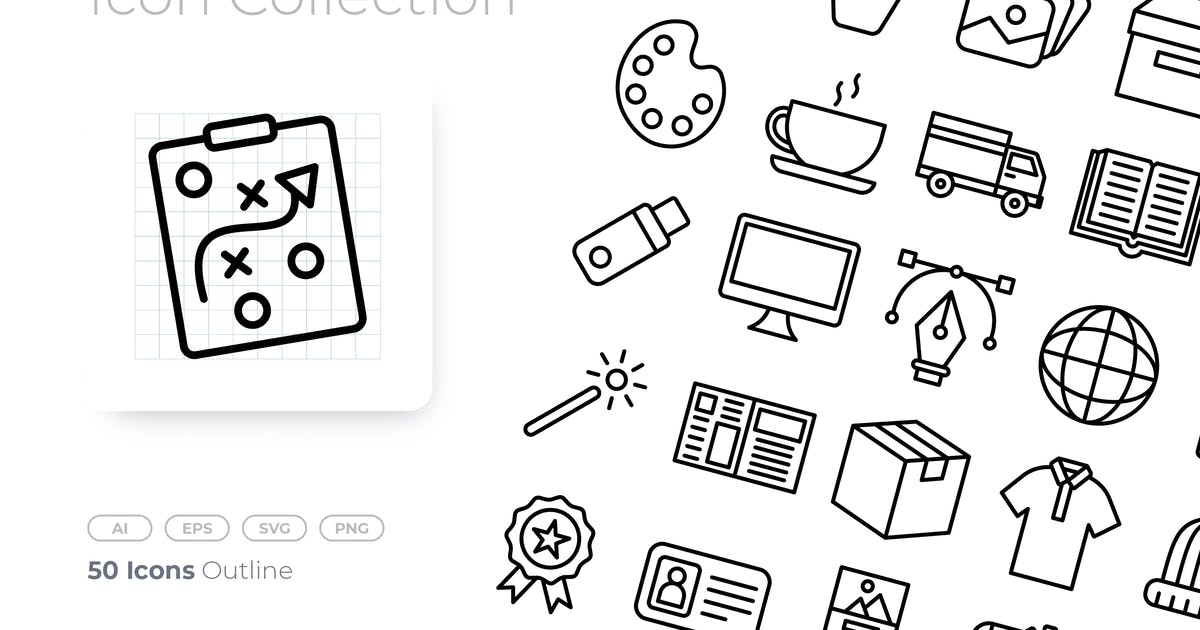 Download Branding Outline Icon by GoodWare_Std