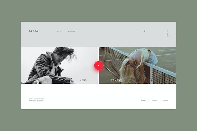 Debox – fashion online store