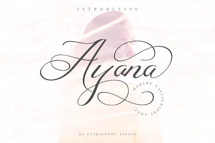 Thumbnail for Ayana - Caligrafía moderna