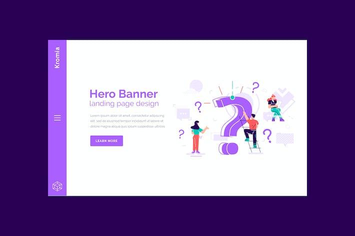 Thumbnail for Kromia - Hero Banner Template