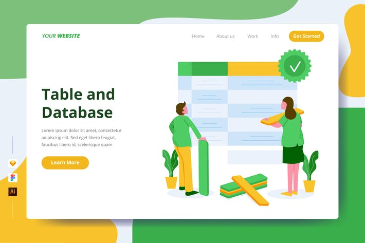 Thumbnail for Table and Database - Landing Page