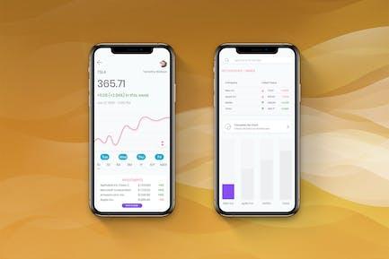 Stock Trading Analysis UI - H