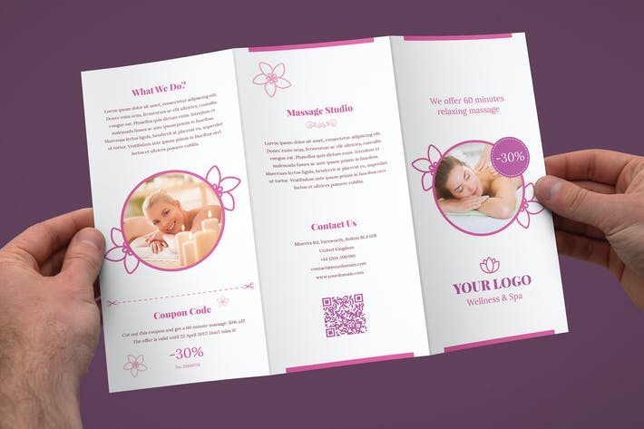 Thumbnail for Brochure – Wellness and Spa Tri-Fold