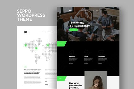 Seppo - Corporate One Page WordPress Theme
