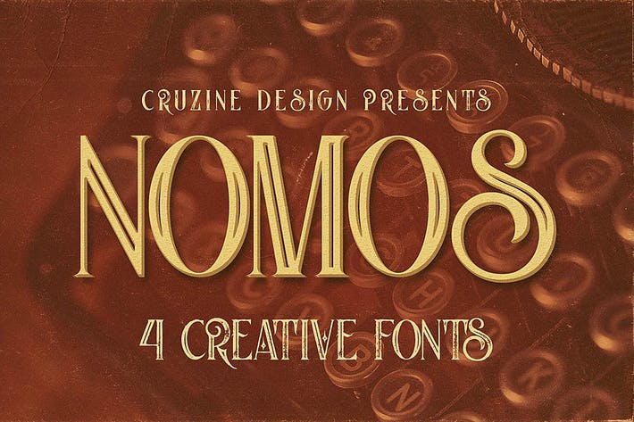Thumbnail for Nomos Typeface