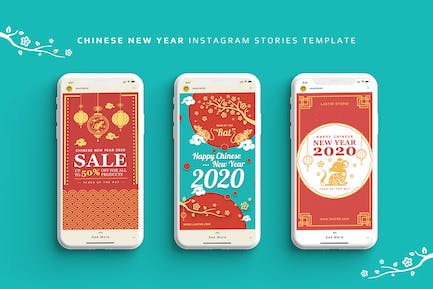 Chinese New Year Instagram Stories Template