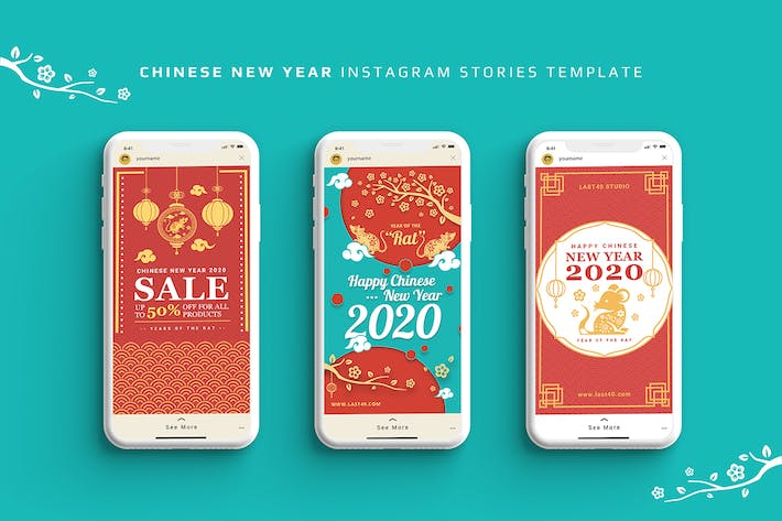Thumbnail for Chinese New Year Instagram Stories Template