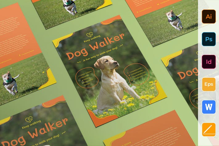 Thumbnail for Dog Walker Flyer