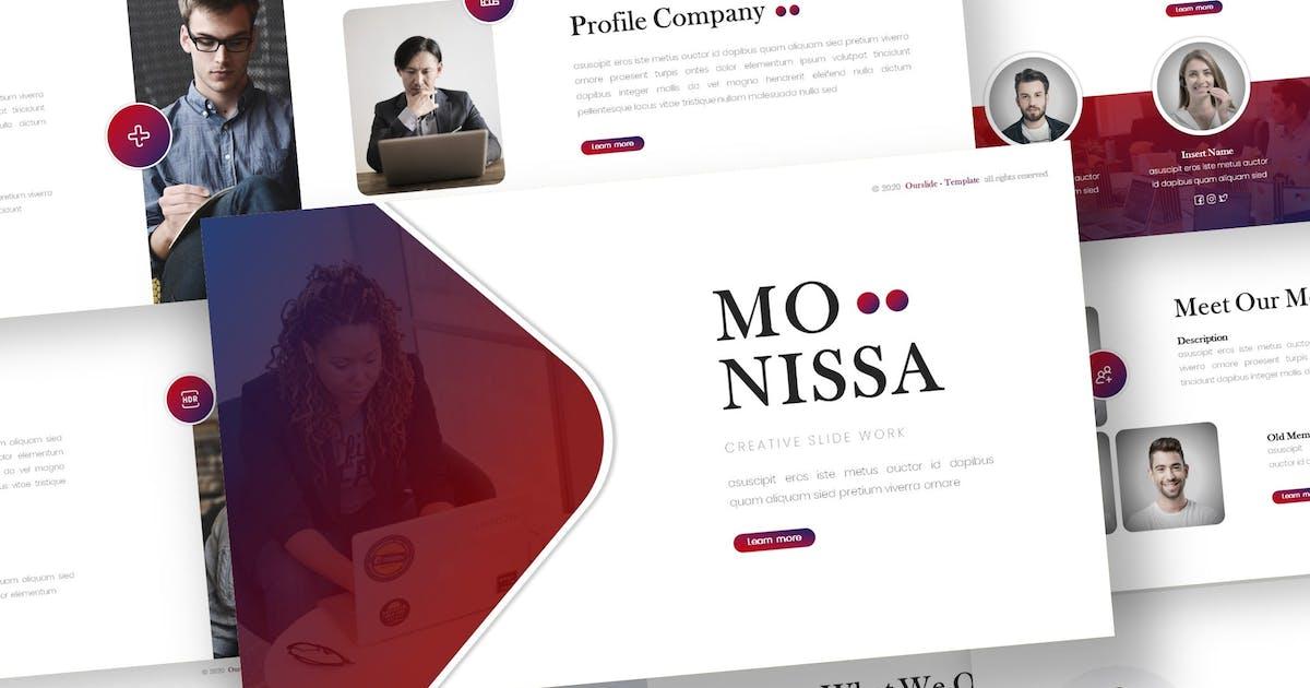 Download Monissa - Business Keynote Template by inspirasign
