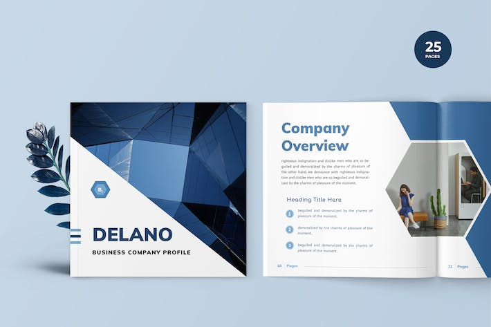 Thumbnail for Delano - Business Portfolio Template