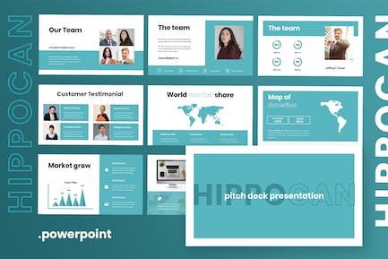 Hipocan - Pitchdeck Powerpoint Presentation