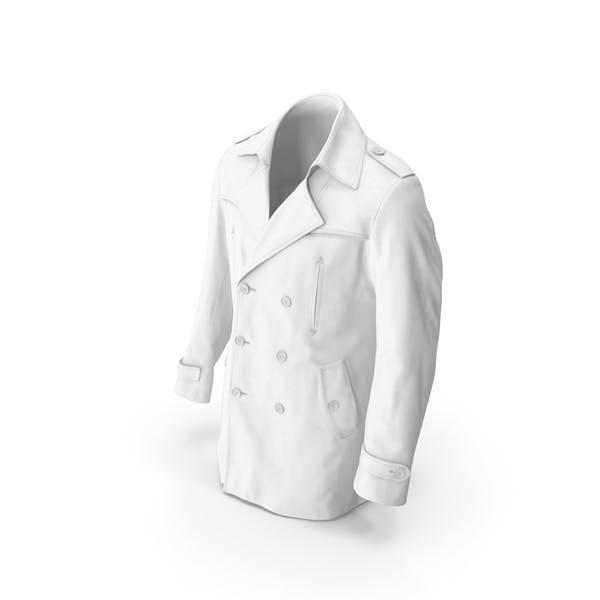 Men's Coat White