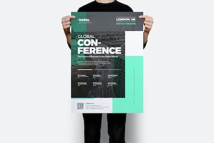 Global Conference Flyer
