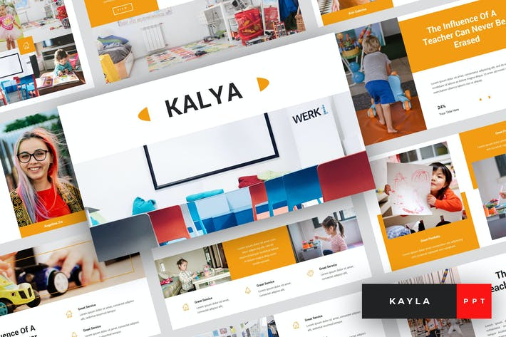 Thumbnail for Kayla - Kindergarten PowerPoint Template