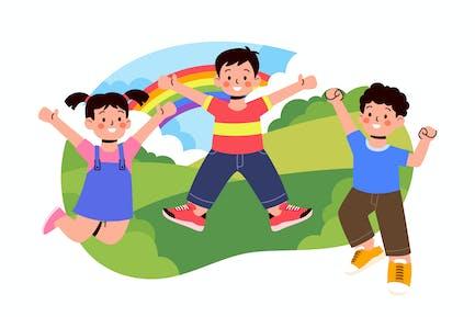 Feliz Día de los Niños